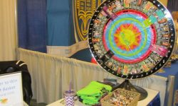 Caribbean Beach Tanning Salon prize wheel
