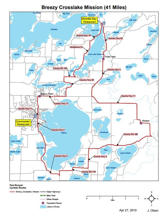 Bike Trail Maps - Breezy Point - Crosslake - Mission ... on breezy point resort map, pelican lake manitoba canada, pelican lake grant county minnesota map, pelican lake elementaita lodge,